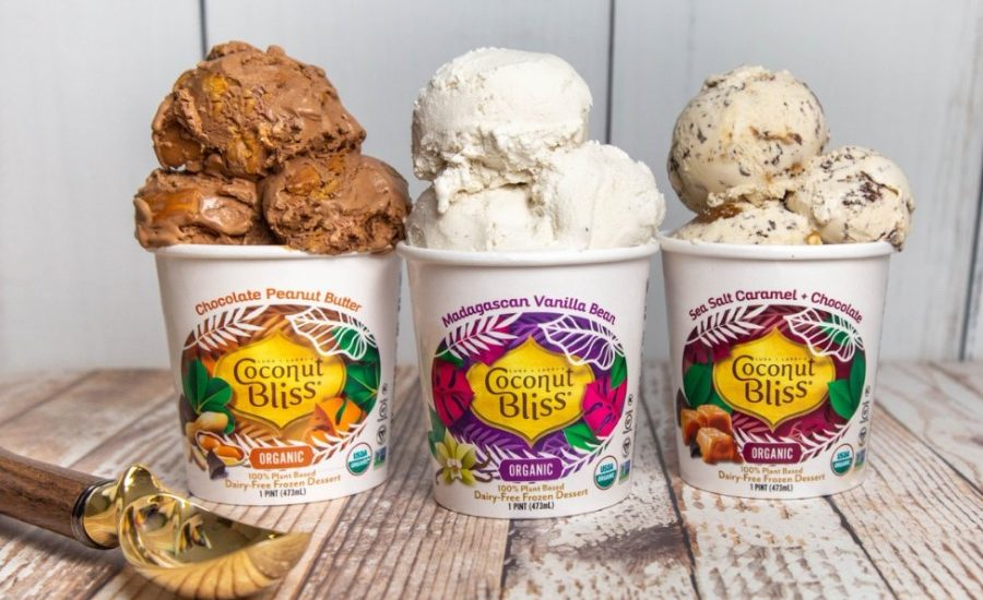 Evergreen scoops paperboard ice cream deal from Coconut Bliss