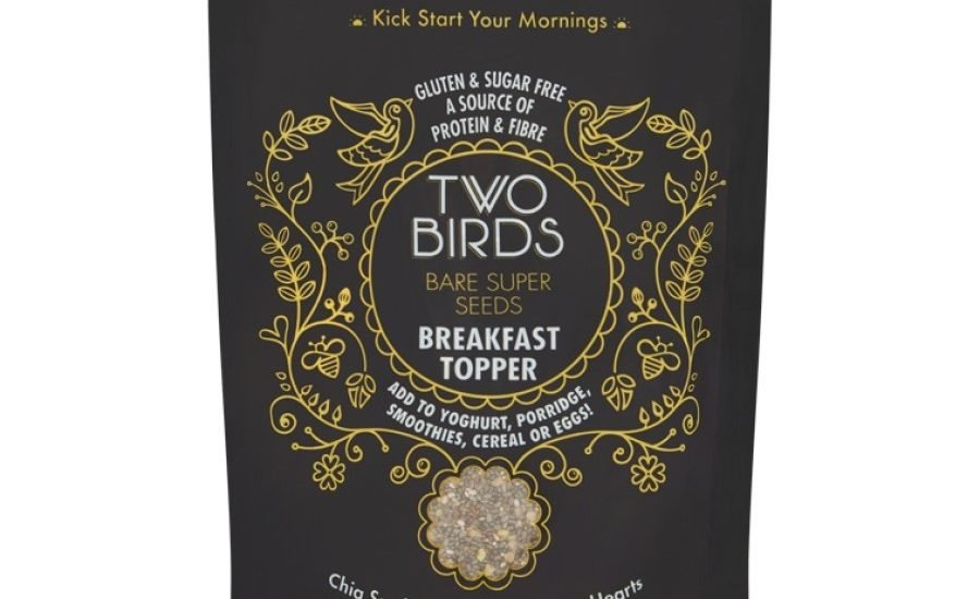 Two Birds' sustainability image strengthened with new compostable packs