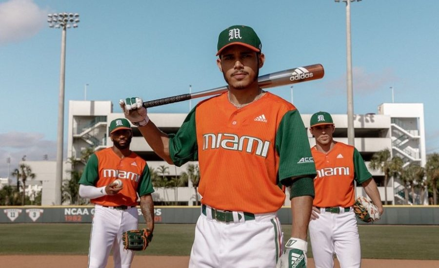 University of Miami hits a home run for plastic pollution with 'Parley for the Oceans' baseball uniforms