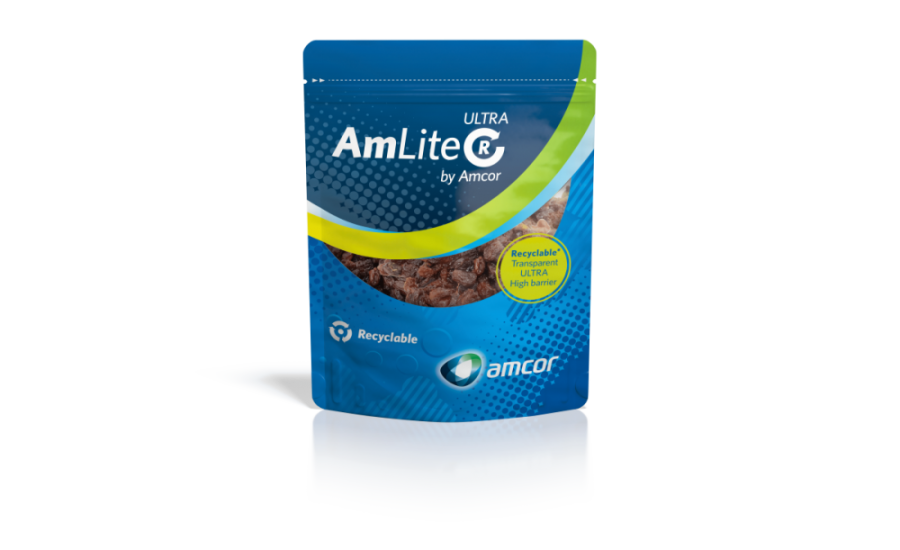 Amcor launches new recyclable packaging, making progress towards its 2025 pledge