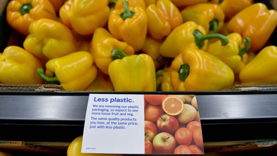 Tesco to trial plastic package recycling scheme in 10 stores
