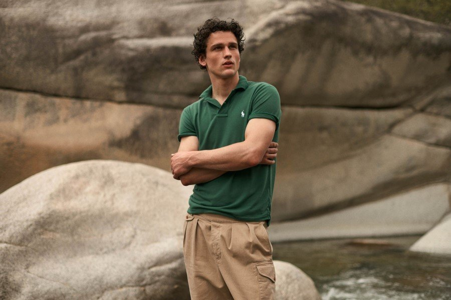 12 recycled plastic bottles used to make Ralph Lauren's 'Earth Polo'