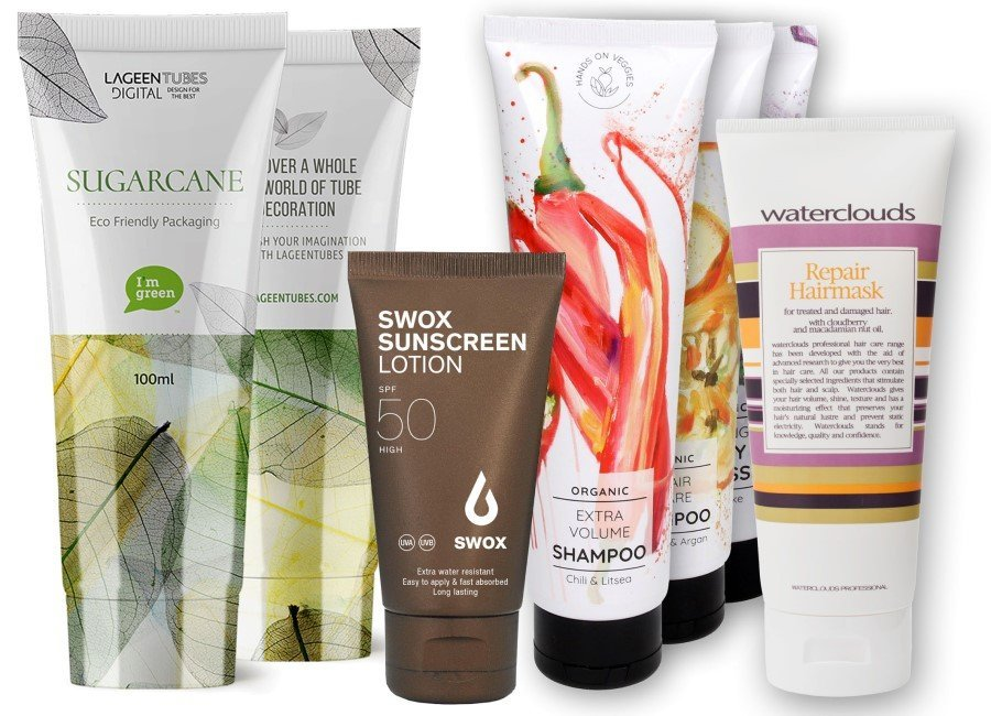 Cosmetic tubes from bio-based polyethylene – saving resources, recyclable and promoting sales