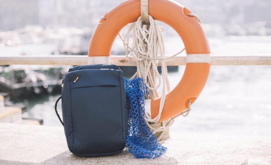Pacsafe to unveil ocean plastic ECONYL bag collection