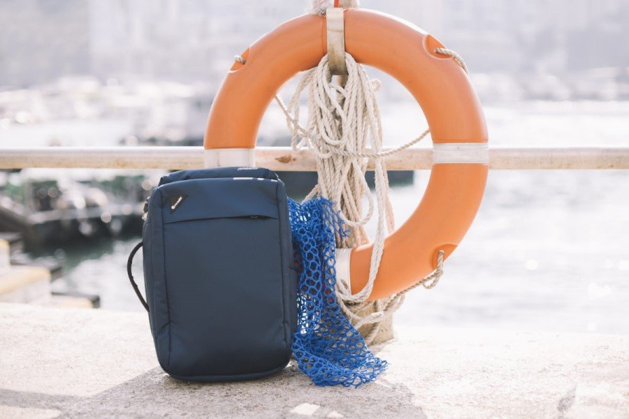 Pacsafe to unveil ocean plastic ECONYL bag collection