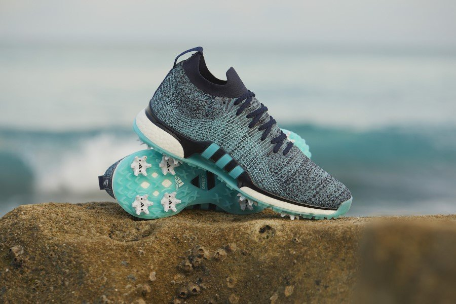 adidas Golf unveils first-ever golf shoe made from upcycled plastic waste intercepted from beaches and coastal communities