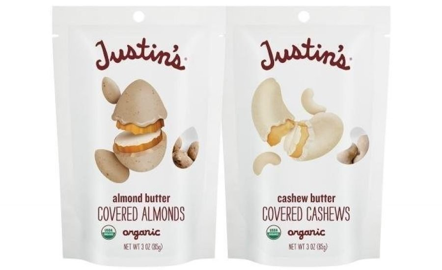 Justin's and ProAmpac produce sustainable high-barrier food pouch