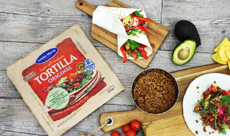 Santa Maria tortillas save plastics with new Flextrus packaging