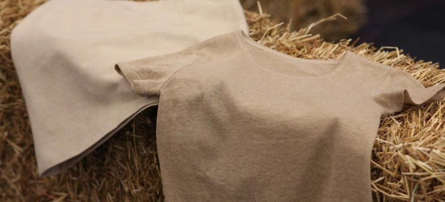 Fortum and Spinnova present a world-first: wheat straw-based clothing