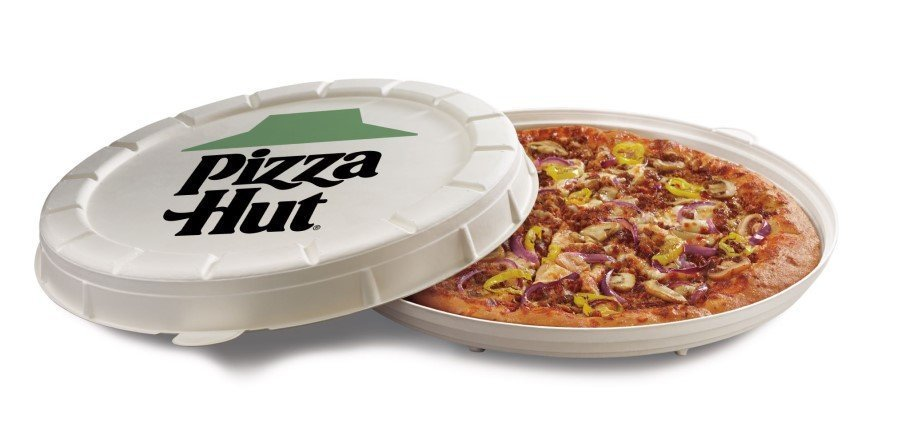 Pizza Hut tests new packaging alternative for plant-based pizza