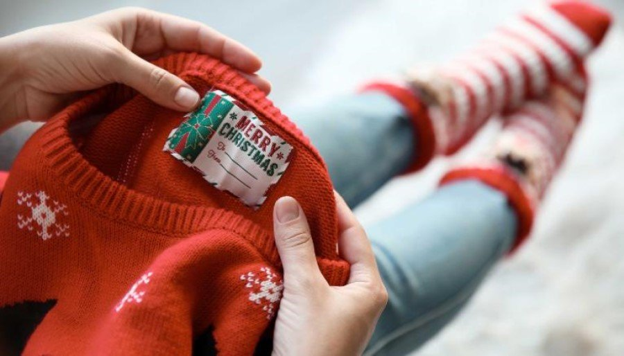 Christmas sweaters are adding to plastic pollution, environmental charity claims