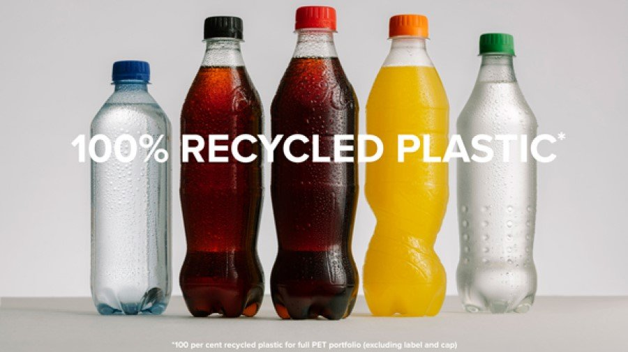 Sweden to become the first country worldwide where all Coca-Cola plastic bottles will be made from 100% recycled material