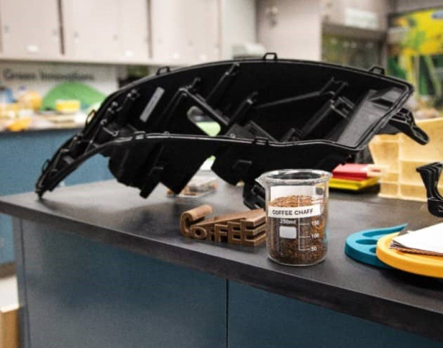 Double shot of sustainability: Ford and McDonald's join forces to convert coffee bean skin into car parts