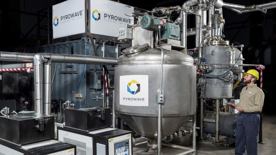 Pyrowave to receive CA$3.2 million from the Sustainable Development Technology Canada Funding to advance plastic circularity