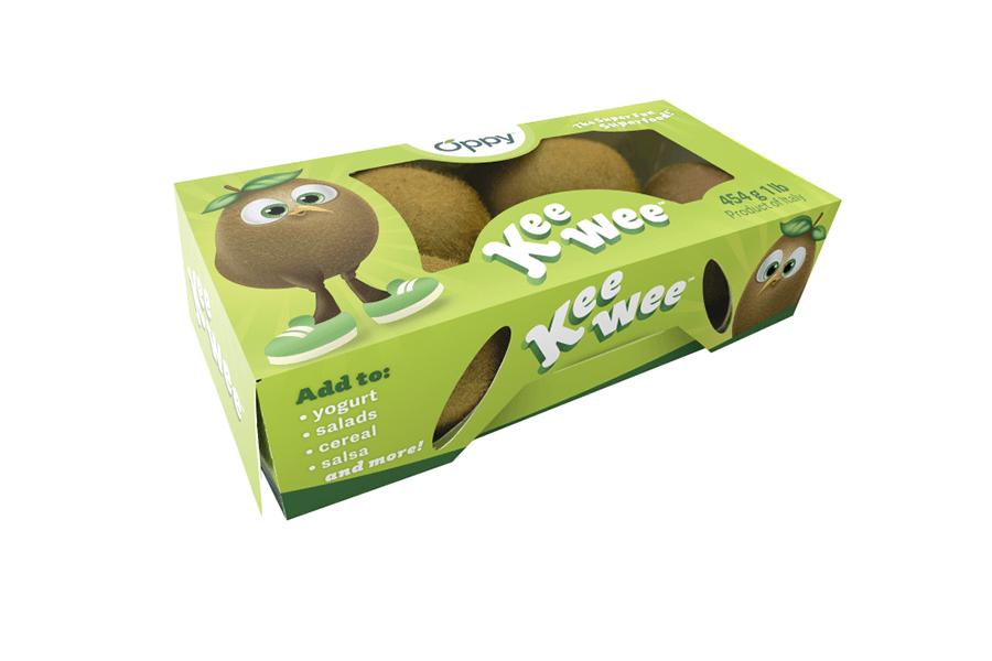 Oppy breaks ground with sweet, sustainable kiwi packs