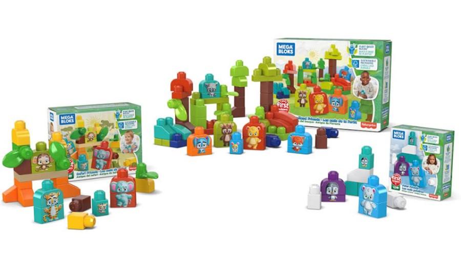 Mattel announces Mega Bloks bio-based plastic line