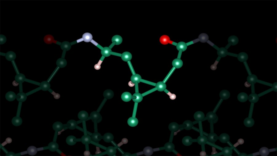 The synthesis of bio-based high-performance polyamide from biogenic residues