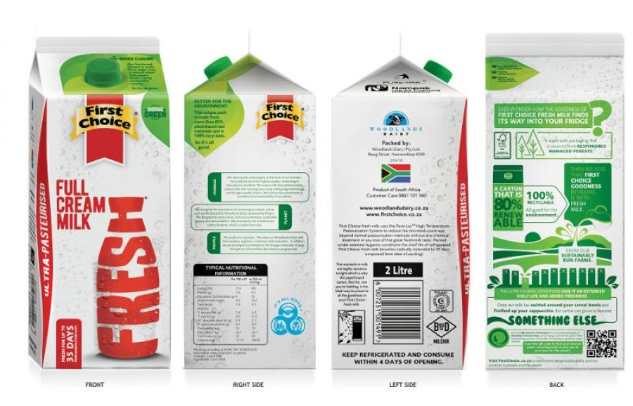 First Choice Milk ESL launches new bio-based packaging