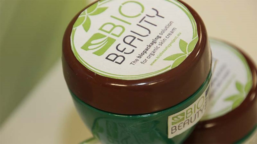 Biodegradable packaging developed for organic beauty market