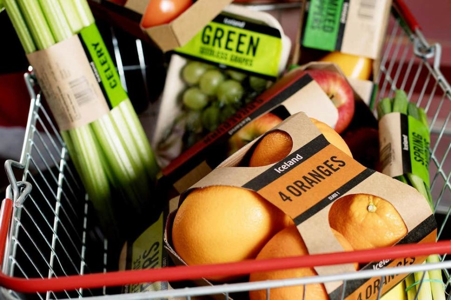 Iceland launches UK-first trial to reduce plastic packaging on fresh produce by 93%