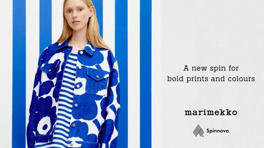 Iconic patterns on groundbreaking, sustainable fabrics