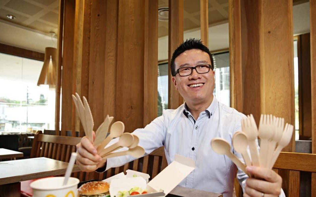 McDonald's commits to remove plastic cutlery Australia-wide