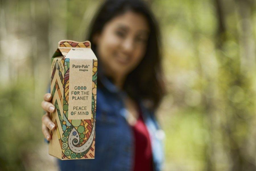 Elopak launches Pure-Pak 'Imagine' sustainable carton