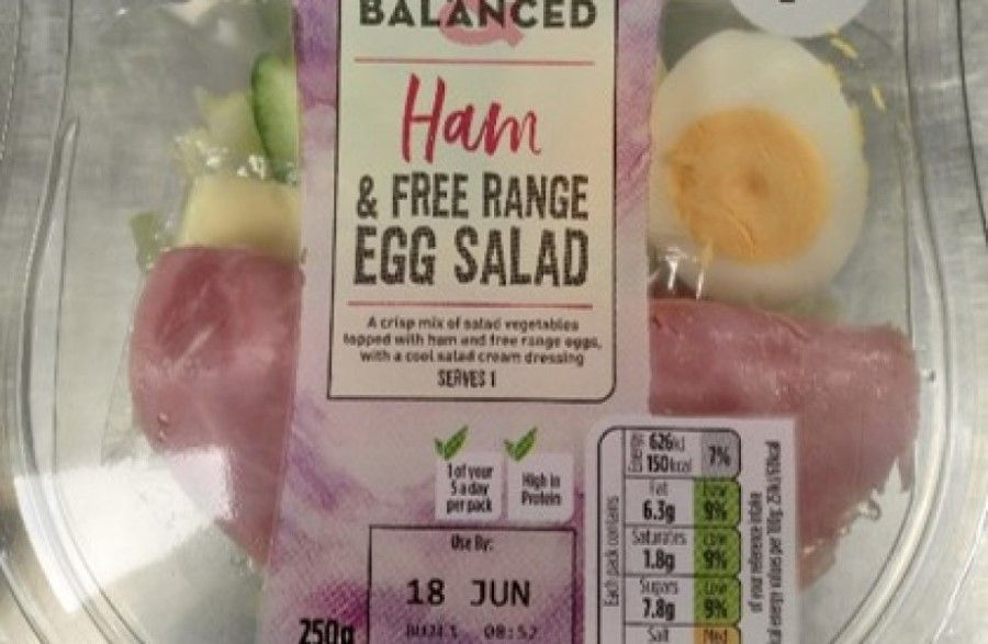 Asda removes over 24.5 million plastic forks from salads in a bid to tackle plastic pollution