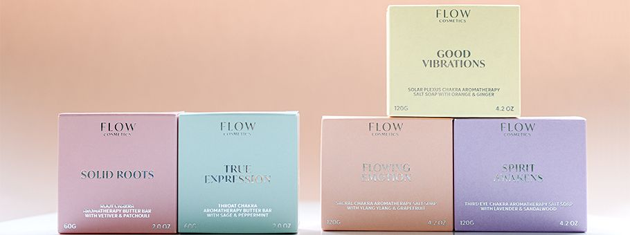 Flow Cosmetics chooses sustainable Metsä Board paperboards for its range of natural products