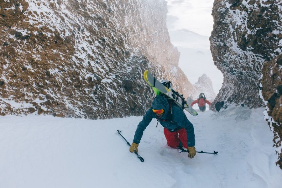 WNDR Alpine launches backcountry ski with biomanufactured performance material