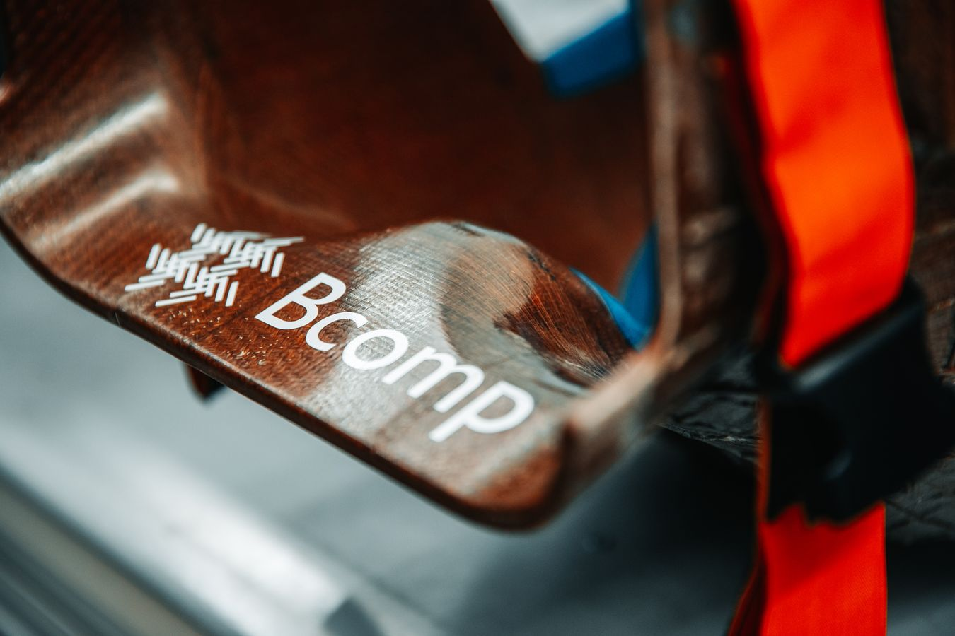 McLaren collaborates with Bcomp to develop F1's first natural fiber composite racing seat