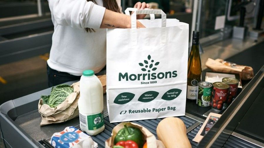 Morrisons plans to scrap reusable bags for life and return to paper