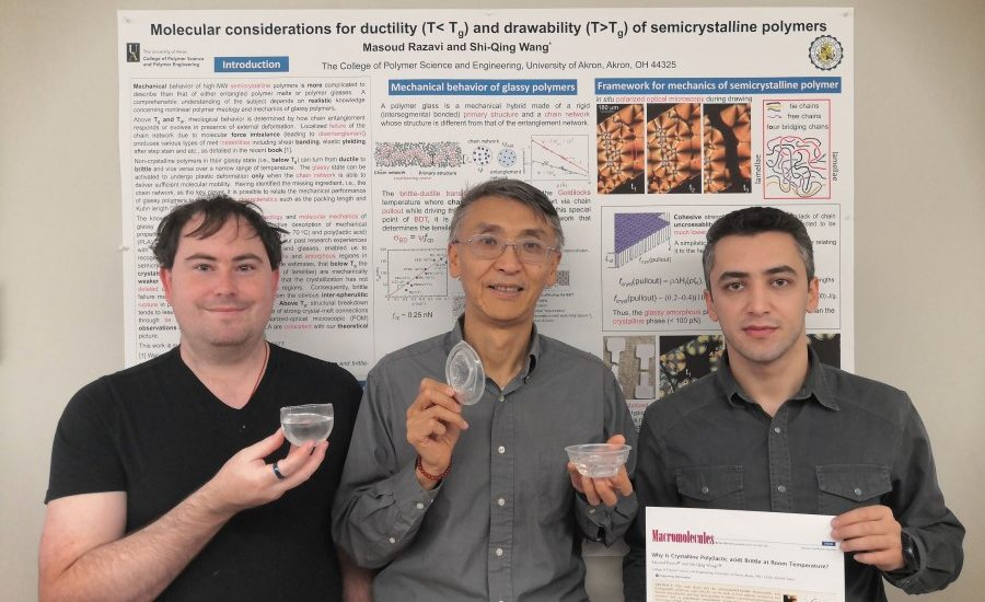 Polymer researcher's latest development results in novel cup that withstands boiling water